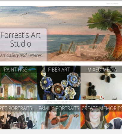 Forrest's Art Studio